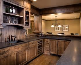 15 interesting rustic kitchen designs black granite 25 best ideas about dining room cabinets on pinterest