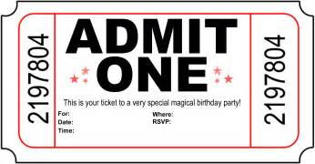 carnival ticket invitation template cliparts co