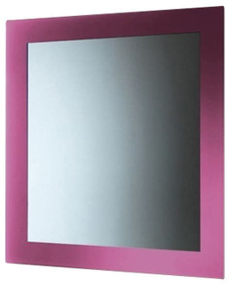 pink bathroom mirror vertical or horizontal mirror with pink frame