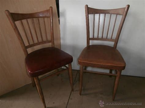 imagenes sillas antiguas 2 sillas antiguas de madera tapizadas vintage comprar