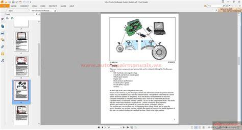 volvo trucks oscillosope student booklet auto repair manual forum heavy equipment forums