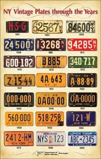 Dmv Vanity Plates Ny New York Vintage Plates New York State Of Opportunity