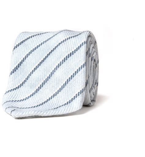 light blue wool tie genova light blue wool stripe tie by proper cloth