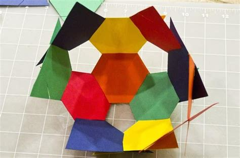 Cool Crafts Made Out Of Paper - cool geometric constructions myideasbedroom