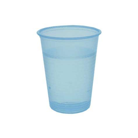 Gobelet à eau en Plastique Bleu Transparent 20 cl   par 100   Huhtamaki