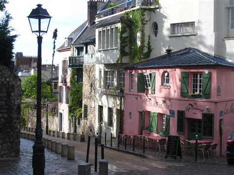 libro montmartre pariss village of montmartre street corner paris france by john of witney alley 2 passage street