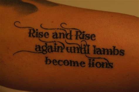 courage tattoos courage tattoos