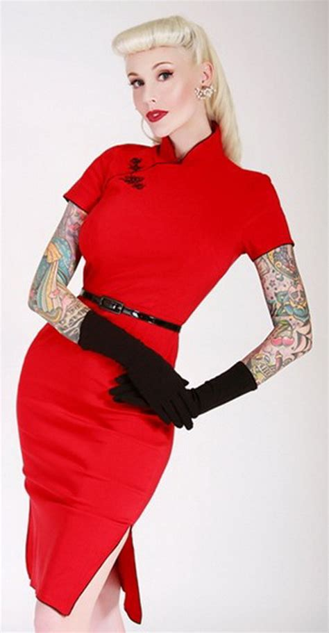 china doll kl rockabilly pin up kleider