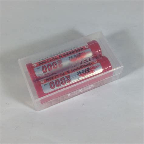 Efest Transparent Battery For 6pc 18650 Casing Baterai Transpar efest 18650 2 battery lifesmoke vapors