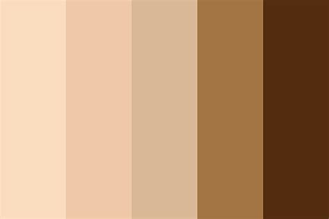 skin color palette skin color color palette