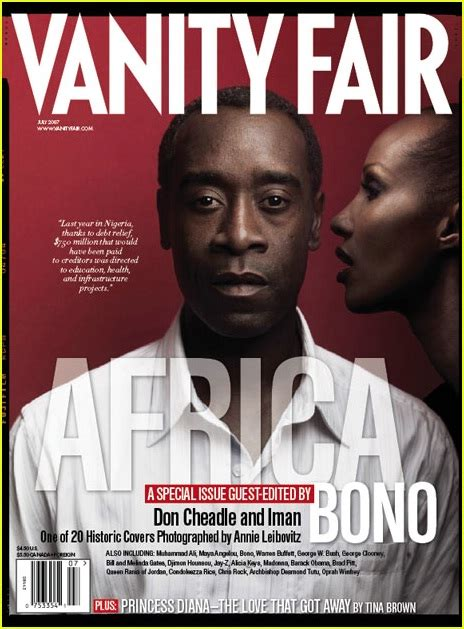 Bonos 20 Vanity Fair Collectable Covers by Vanity Fair Quot Africa Issue Quot 2007 Photo 421741