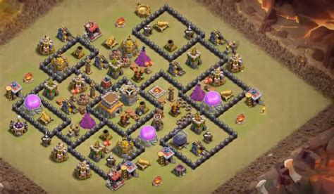 clash of clans best th 8 trophyclan war base th8 4 best town hall 8 war base www pixshark com images