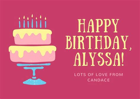 imagenes de happy birthday wife customize 5 083 card templates online canva