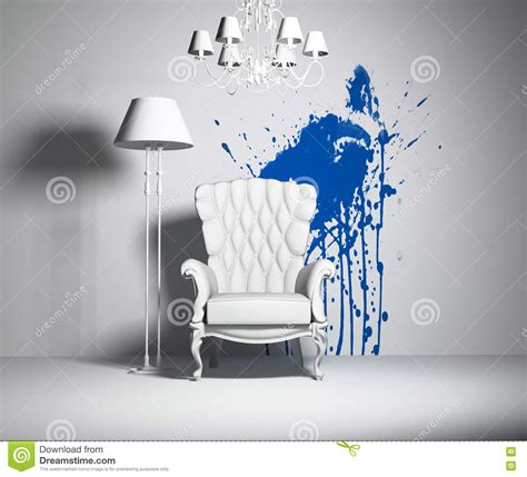 royalty free stock photography stustock white interior stock illustration image of chairs lounge