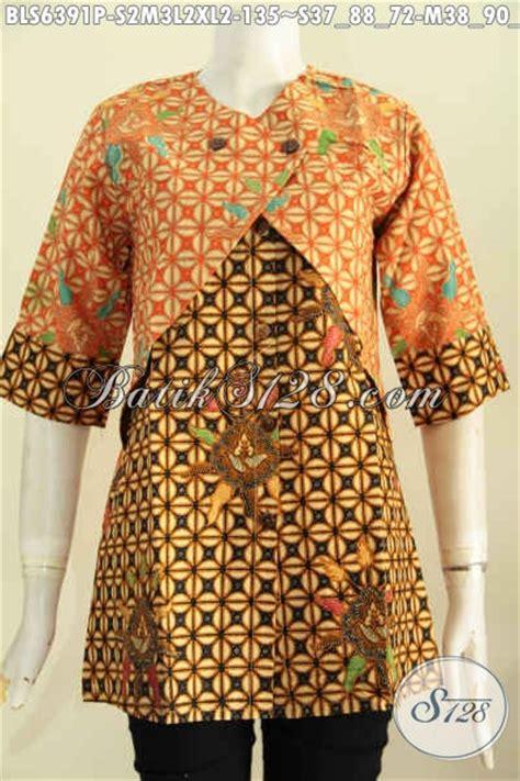 Cardigan Batik Parang Batik Kawung dress batik kombinasi model baju batik modern 2018