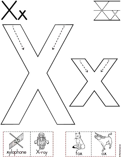 Printable X Pictures