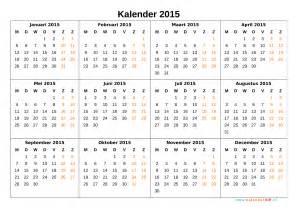 Oktober Kalender 2015 Kalender 2015 Jaarkalender En Maandkalender 2015 Met