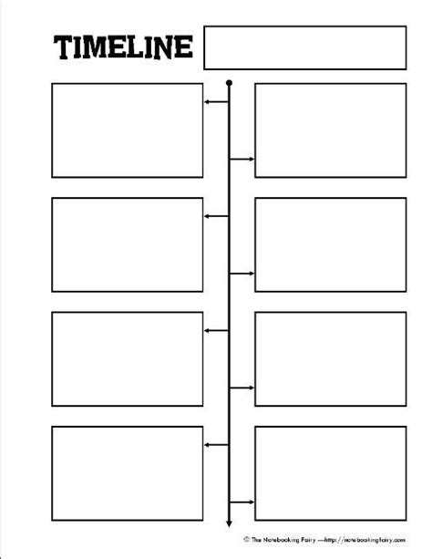 biography graphic organizer worksheets free free printable timeline notebooking page from