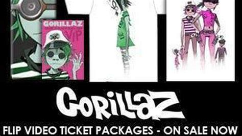 Gorillaz Sweepstakes - winweekend sweepstakes win gorillaz flip video ticket package
