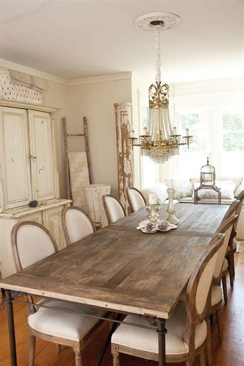 Chic Dining Room Chairs 63 Gorgeous Country Interior Decor Ideas Shelterness