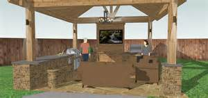 How To Design An Outdoor Kitchen Free Outdoor Kitchen Plans H6xa 3494