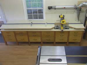Poly Cabinets Furniture For The Workshop Finished Miter Saw Cabinet