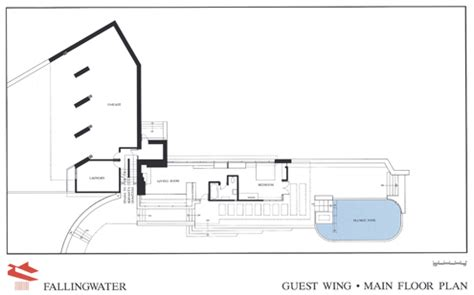 house plans with guest wing jos 233 miguel hern 225 ndez hern 225 ndez fallingwater mill run