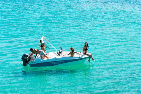 dream swim boat rental compass 150cc dream swim boat rental chalkidiki