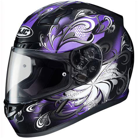 helmet design for ladies hjc cl 17 cosmos womens full face motorcycle helmet ebay