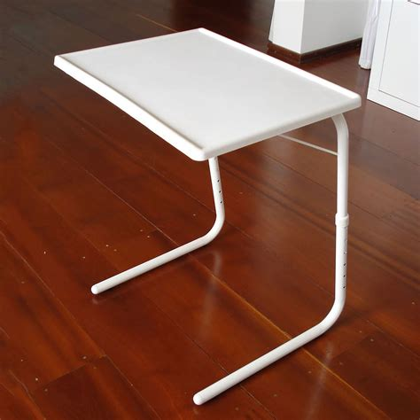 table mate adjustable table adjustable folding table tv dinner laptop table mate