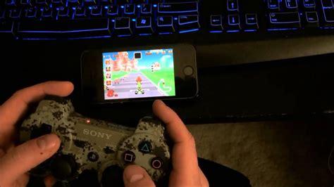 iphone  ios  jailbroken  ps controller  game boy advance emulator youtube