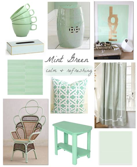 Mint Green Interior by Maison Color Mint Green