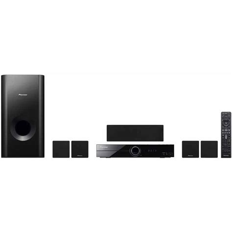 pioneer multi region dvd home theatre system htz 121dvd b h