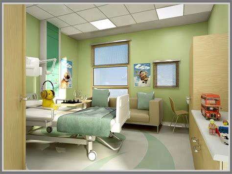 warna dingin munculkan kesan teduh  rumah sakit edupaint