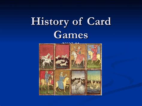 cards history history of card