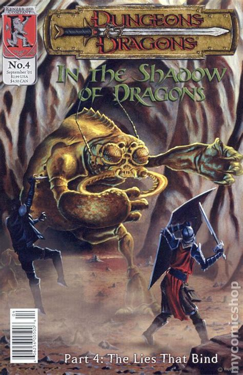 dungeons and dragons comic by dungeons and dragons in the shadow of dragons 2001 comic books