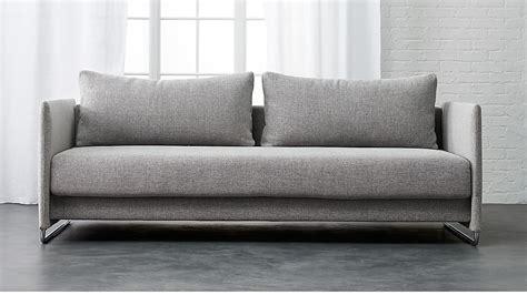 tandom sleeper sofa cb2