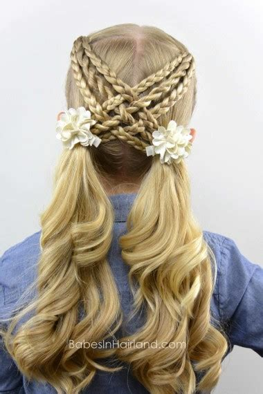 easy hairstyles  kids girls