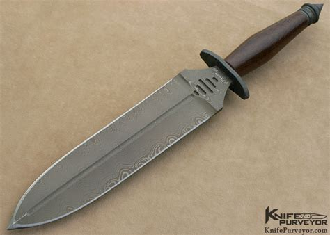 strider custom knives mick strider damascus v 45 combat dagger knifepurveyor