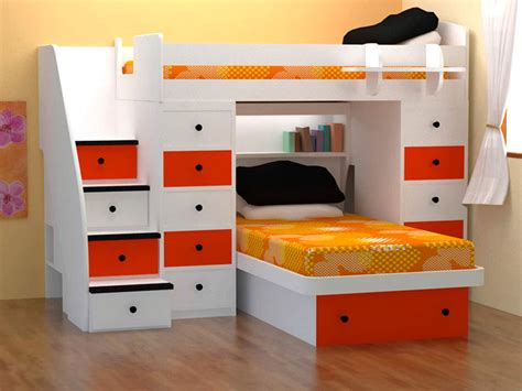 bunk beds in small bedroom loft bed optimizing the space of small rooms small