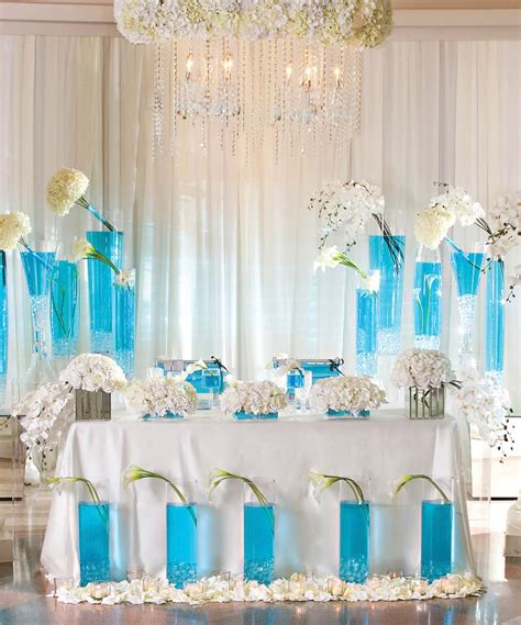 turquoise wedding decoration for 2016 decor image
