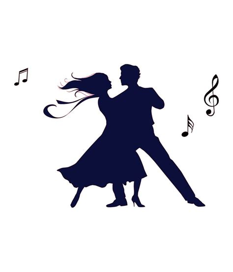 dancing couple tattoo the interior wall sticker buy
