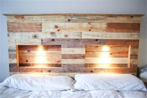 pallet headboard designs 40 recycled diy pallet headboard ideas