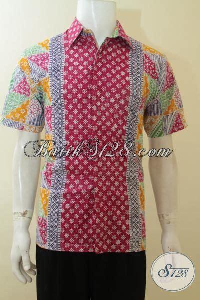 Batik Cap Laki Laki Lengan Panjang baju batik cap khas dengan motif trendy dan up to