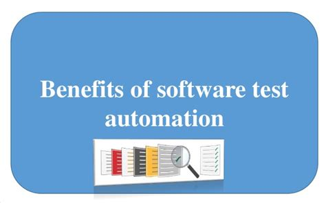 benefits of software test automation