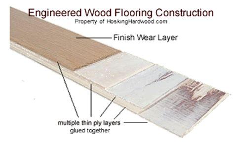 wood floor section types of wood floors
