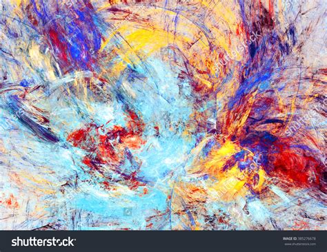 background abstract blue texture art color colour fine art bright paint spots abstract red blue stock illustration