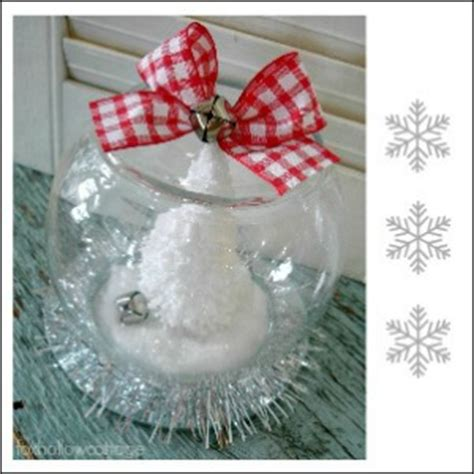 dollar tree christmas snow globe tutorial fox hollow