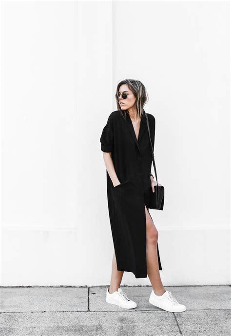 Daster Dress Midi Monocrome the duster dress modern legacy