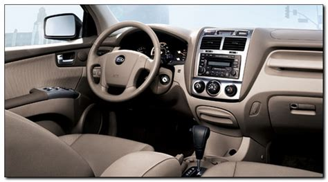 2007 Kia Interior 2007 Kia Sportage Sportage Car Review Car Tuning